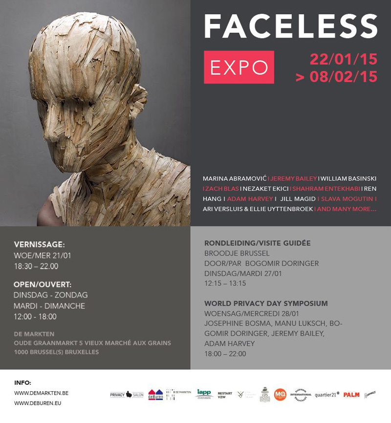 FACELESS Brussels_events
