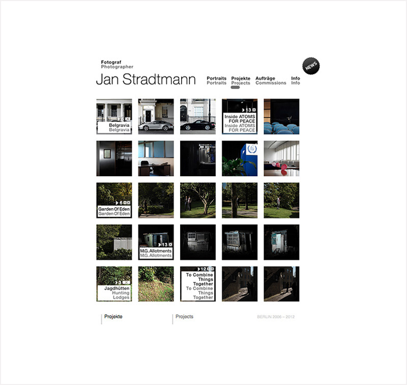 screen shot webseite Jan Stradtmann, in use 2006 - 2014