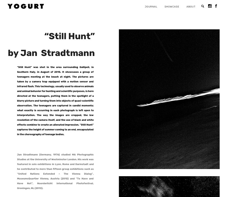 Still Hunt _Yogurt Magazine